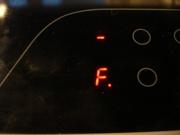 エラーコード「F」