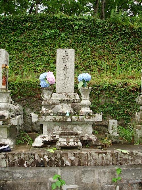 上野彦馬のお墓